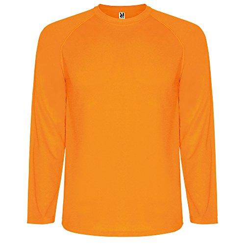 CAMISETA ROLY Herren Langarmshirt orange Neon-Orange