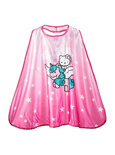Halloween Costumes Ideas For Three (Official,, Pretend Play, Kids' Fantasy Halloween Costume, Boys/Girls Age 3-10, Authorized Kids Cape (Hello Kitty))