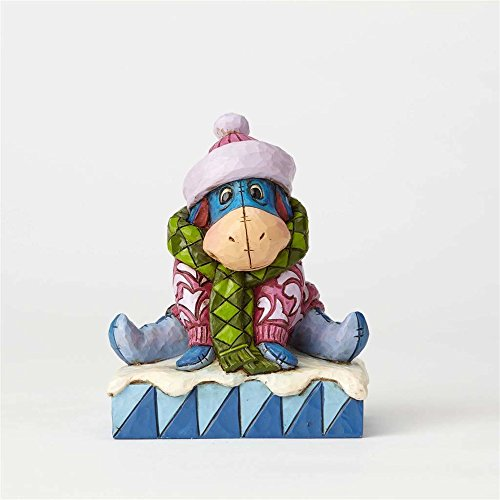 Enesco Disney Traditions by Jim Shore Winnie the Pooh Eeyore Waiting for Spring Stone Resin - Disney Hours Stores Springs