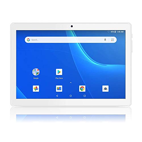 Android Tablet 10 Inch, 5G WiFi Tablet, 16 GB Storage, Google Certified, Android 8.1 Go, Dual Camera, Bluetooth, GPS…