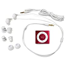Underwater Audio Waterproof iPod Swimbuds Bundle, Buds-Pnk, Pink
