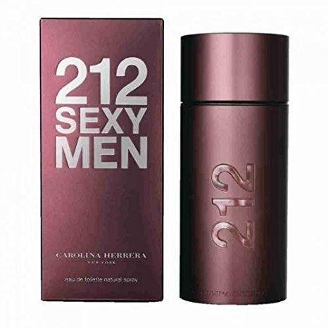 (212 SEXY MEN/CAROLINA HERRERA EDT SPRAY 3.3 OZ (M) (Pack of 2))