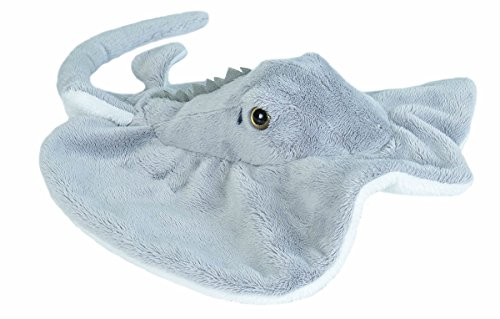 (Wild Republic Atlantic Ray Plush, Stuffed Animal, Plush Toy, Gifts for Kids, Sea Critters 11 Inches)