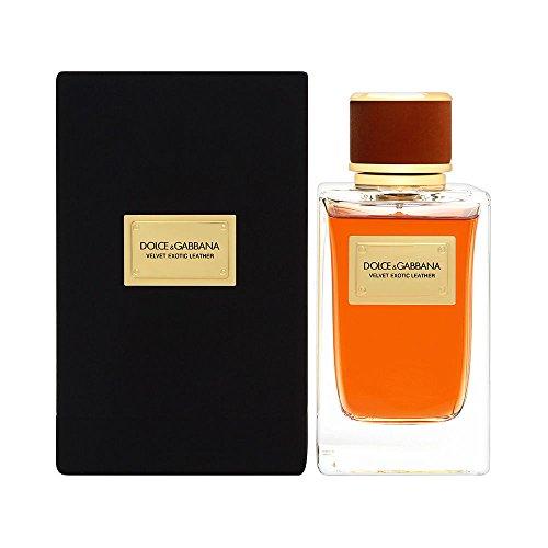 Dolce & Gabbana Velvet Eau de Parfum Spray, Exotic Leather, 5.0 Ounce - Gabbana Mens Leather