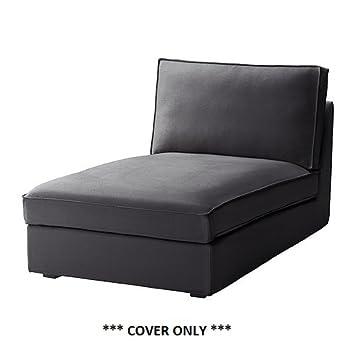Recamiere ikea  IKEA KIVIK – Bezug für Recamiere, Dansbo dunkelgrau: Amazon.de ...