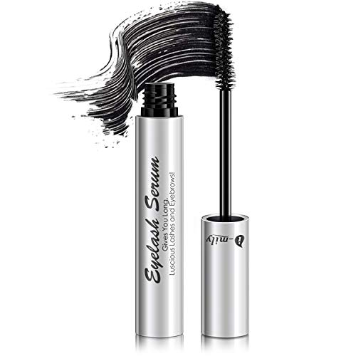 I-mily Voluminous Mascara, Makeup Lash Volumizing Mascara for Eyelash Thickening, Lengthening, Long Lasting, Waterproof Smudge Proof & Hypoallergenic Ingredients, Black