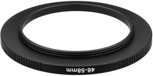 Sensei PRO 46mm Lens to 58mm Filter Aluminum Step-Up Ring 3 Pack