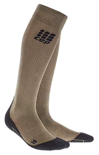 CEP Women's Progressive+ Compression Run Socks 2.0, Gold Metal (limited edition), Size (Metal Womens Socks)