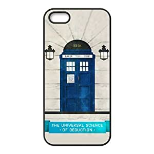 DiyCaseStore Customized Doctor Who and Sherlock iPhone 5 5S Hard Case Cover Protector Gift Idea