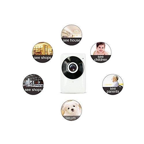 Peitemadun Motion detection IP Cam WiFi, baby/Pet monitor casa telecamera IP HD 720p WiFi telecamera di sicurezza per iPhone Samsung