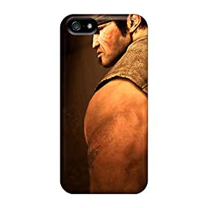 Tpu Shockproof/dirt-proof Gears Of War 3 Marcus Cover Case For Iphone(5/5s)