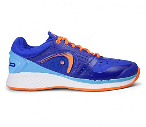 Head - Sprint Pro Clay Herren Tennisschuh (blau/orange) - EU 40,5 - UK 7