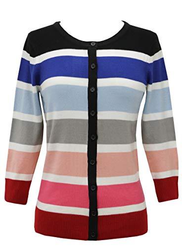 Spandex Striped Sweater - 9
