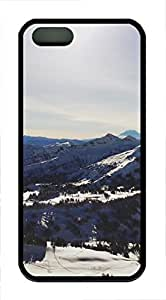 iPhone 5 5S Case landscapes nature snow mountains 38 TPU Custom iPhone 5 5S Case Cover Black by icecream design