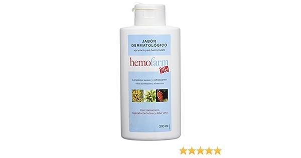 HEMOFARM - HEMOFARM PLUS JABON LIQ 200 ML: Amazon.es: Alimentación y bebidas