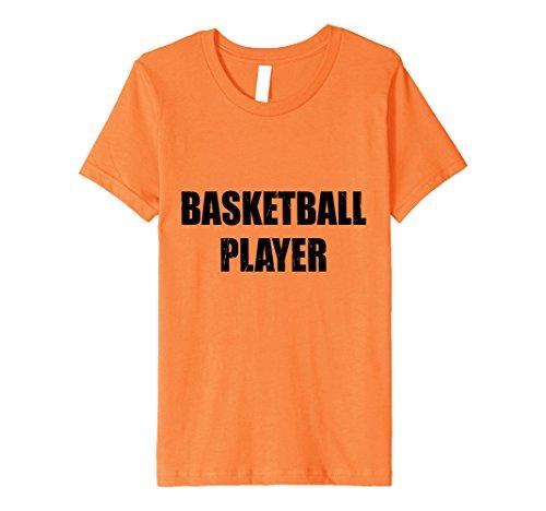 Kids Basketball Player Shirt Halloween Costume Funny Distressed 10 (Basketball Player Costume Halloween)