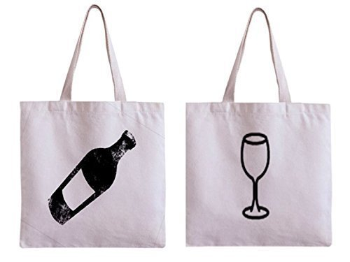 Shopping Bag, Reusable Shopping Tote, Grocery Bag, Wine Gift, Wine Themed Gifts, Wine Tote, Wine Bag