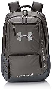 Under Armour UA Hustle Backpack II Mochila, Unisex adultos, Gris (Graphite)