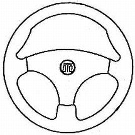 - Dometic SeaStar Stealth Steering Wheel, SW59491P