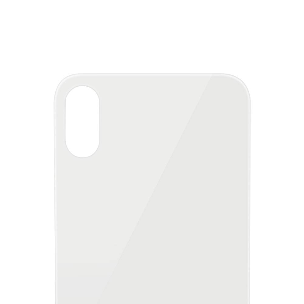 White No Logo Battery Cover Glass Housing Rear Back Door for iPhone X 5.8 inch All Models HKCB Apple iPhone X Back Glass Cover Replacement