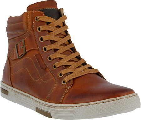 Spring Step Para Hombre Humbert Leather, Rubber Sneakers Camel