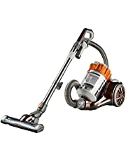 Bissell 1547 Hard Floor Expert Multi-Cyclonic Bagless Canister Vacuum, Silver