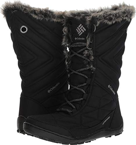 Columbia Women's Minx III Mid Calf Boot, black, ti grey steel, 8 Regular US