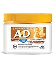 A+D Original Diaper Rash Ointment, Skin Protectant With Lanolin and Petrolatum, (Packaging May Vary) Cream 16 Ounce (Pack of 1)
