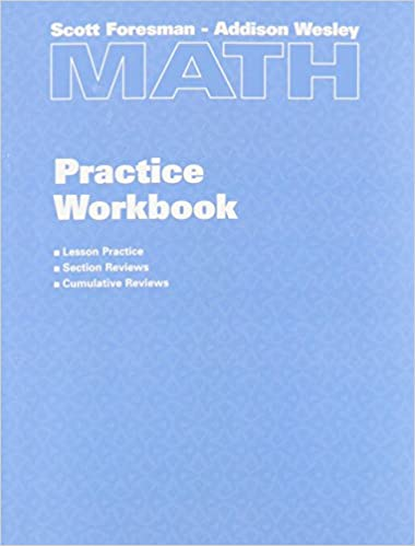scott foresman mathematics grade 6 homework workbook
