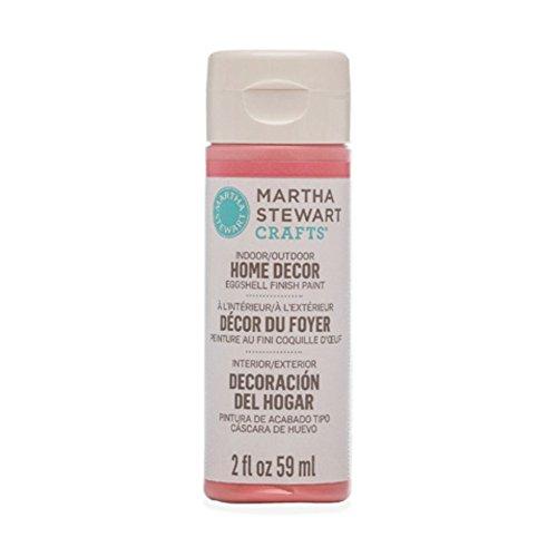 Martha Stewart Crafts Home Decor Eggshell Paint: Rosebud Pink (2 ounce) ()