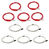 Ivelink 12V 40W 620 Ceramic Cartridge Heater and NTC Thermistor 100K 3950 for 3D Printer(Pack of 10pcs)