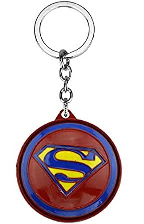 The Avengers Marvel Movie Comics Captain America key ring Spinning Shied Metal car Keychain Pendant Souvenir Gifts for fans