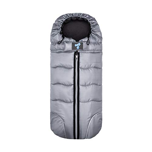Nuolate2019 Winter Baby Sleeping Bag Infant Stroller Warm Footmuff Outdoor Nest Sack Anti-Kicking Universal Stroller Blanket Wrap Black