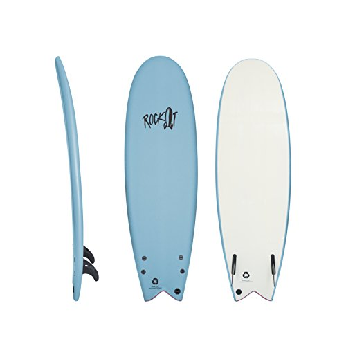 Rock-It 58 Albert Surfboard (Blue)