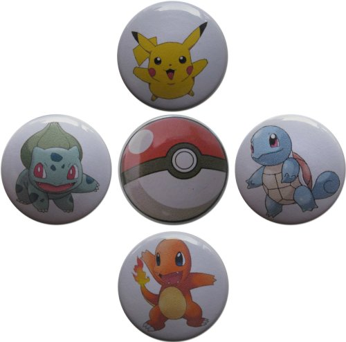 Pokémon & Pokéball (From Pokémon) 1.25 Inch Magnet Set (Jessie From Team Rocket)