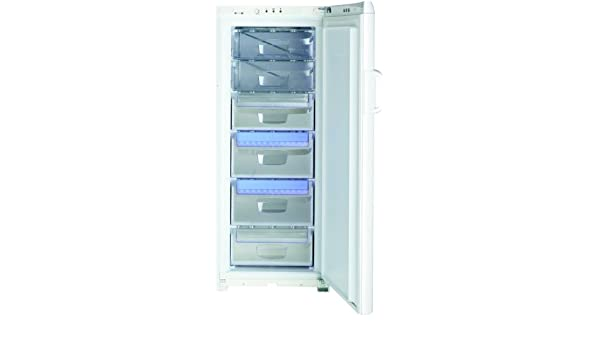 Indesit UFAN 300 NF, 0.72 kWh/24h, 262 kWh/year, A, Blanco, 1500 ...