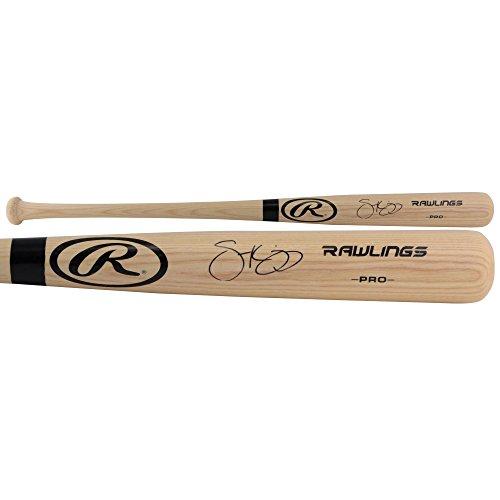 Scott Kingery Philadelphia Phillies Autographed Rawlings Blonde Big Stick Bat - Fanatics Authentic ()