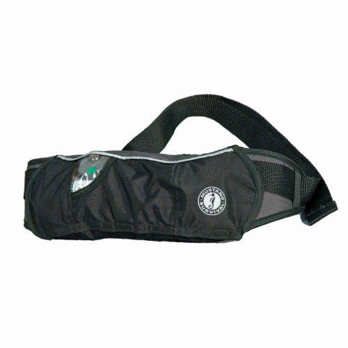 (Mustang Survival PFD Inflatable Belt Pack (Black/Carbon))