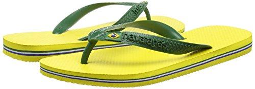 Havaianas Brasil EU 45 para 47 46 Adulto Brazilian 48 Citrus Unisex Chanclas Amarillo Yellow rrqAvRwUW