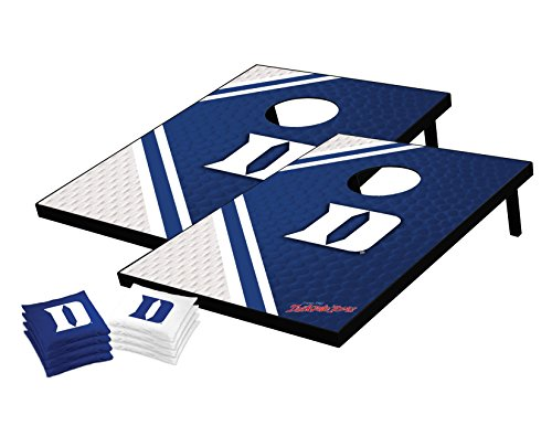 - Wild Sports NCAA College Duke Blue Devils Tailgate Toss Bean Bag Game Set, 36