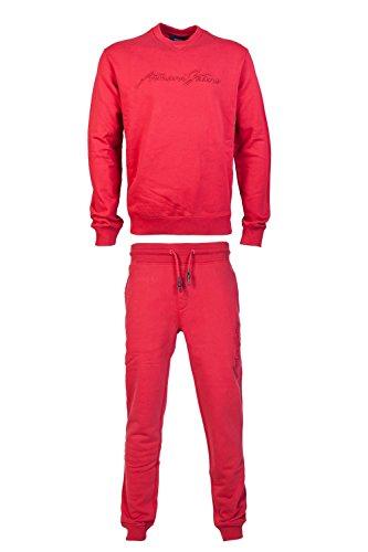 ARMANI JEANS Mens Regular Tracksuit 6Y6M02 6J1JZ/6Y6P80 6J1JZ Size XL - Armani Suits Jeans