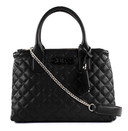 Mano w H Guess 5 Donna Satchel 5x22x13 A black Elliana Status Rosa Cm L 31 Borsa X qTPHXq