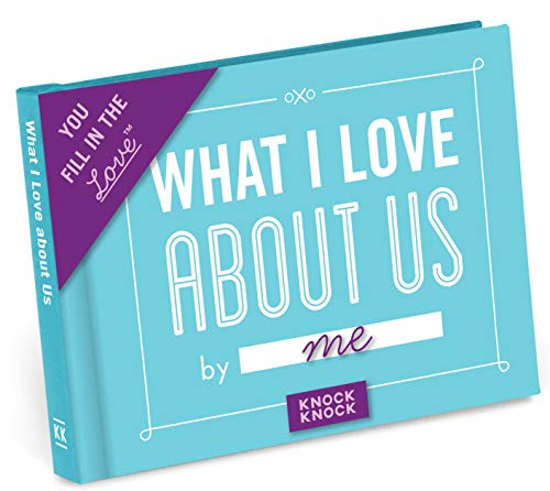 Knock Knock What I Love about Us Fill in the Love Journal (50 Best Jokes Of All Time)
