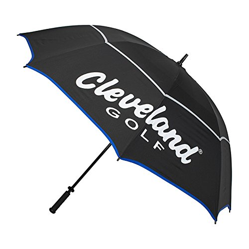 Cleveland Golf 2018 Men's Cg Umbrella, Black/Blue/Grey, 62''