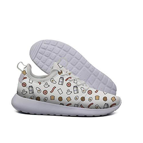 Breakfast Popular Lightweight Opr7 Breakfast Sneaker Shoes Women Popular For Food Sport Food Running Comfort PtZq5RZw