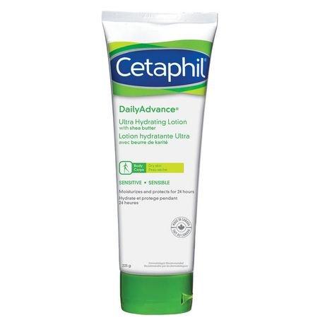 - Cetaphil DailyAdvance Ultra Hydrating Lotion, 225g
