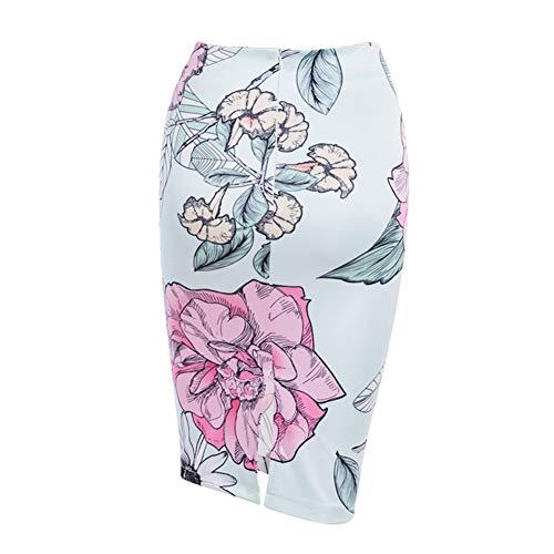 Stretch Femmes Imprimé Wrap nbsp; nbsp;midi Haute Taille M Jupe Printemps nbsp; Sexy Floral Crayon Nouvelle Arrivée Llfusm 2018 pzVSUM
