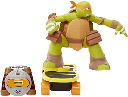 Extreme Performance, Skateboarding ,Mikey Teenage Mutant Ninja Turtles Remote Control Walmart Exclusive