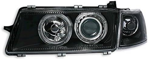 AD Tuning GmbH /& Co Klarglas Schwarz KG 960378 Angel Eyes Scheinwerfer Set