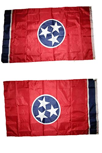Mikash 3x5 State of Tennessee 2 Faced Double Sided 2-ply Polyester Flag | Model FLG - 2776